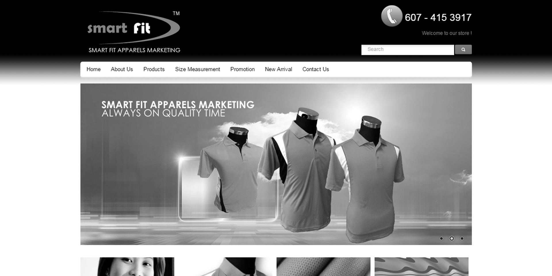 Smart Fit Apparels Marketing